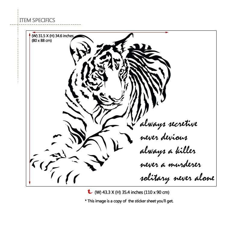 Adhesive Removable Wall Decor Accents Graphic Stickers Decals & Vinyl