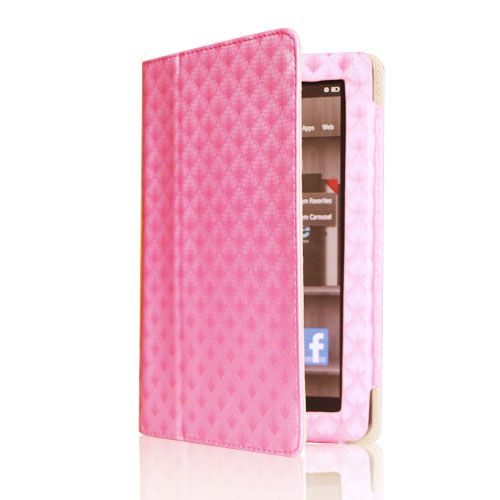 PU Leather Case Cover/Protector/Car Charger/USB Cable/Stylus