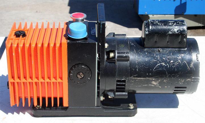 Alcatel 2004A Dual Stage Rotary Vane Pump