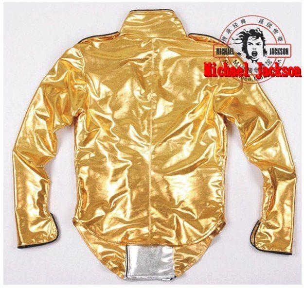 SUPER CLASSIC MICHAEL JACKSON HISTORY TOUR GOLD JACKET