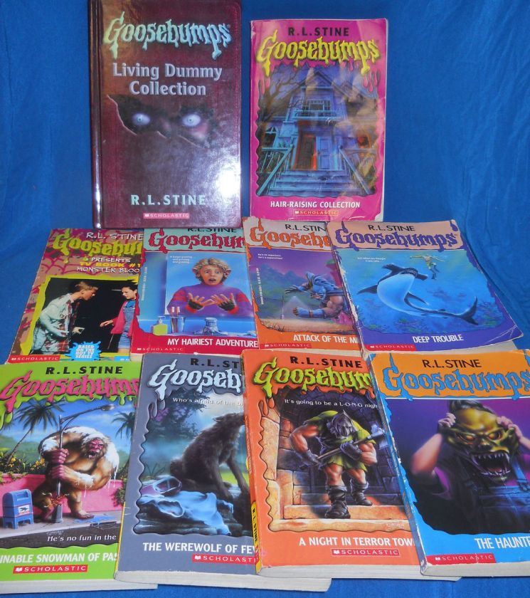 GOOSEBUMPS LOT R L STINE BOOKS *34 books